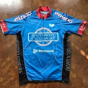 Southwest Cyclesport Bicycle Jersey M